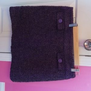 Michael Michael Kors Purple Boucle Mini